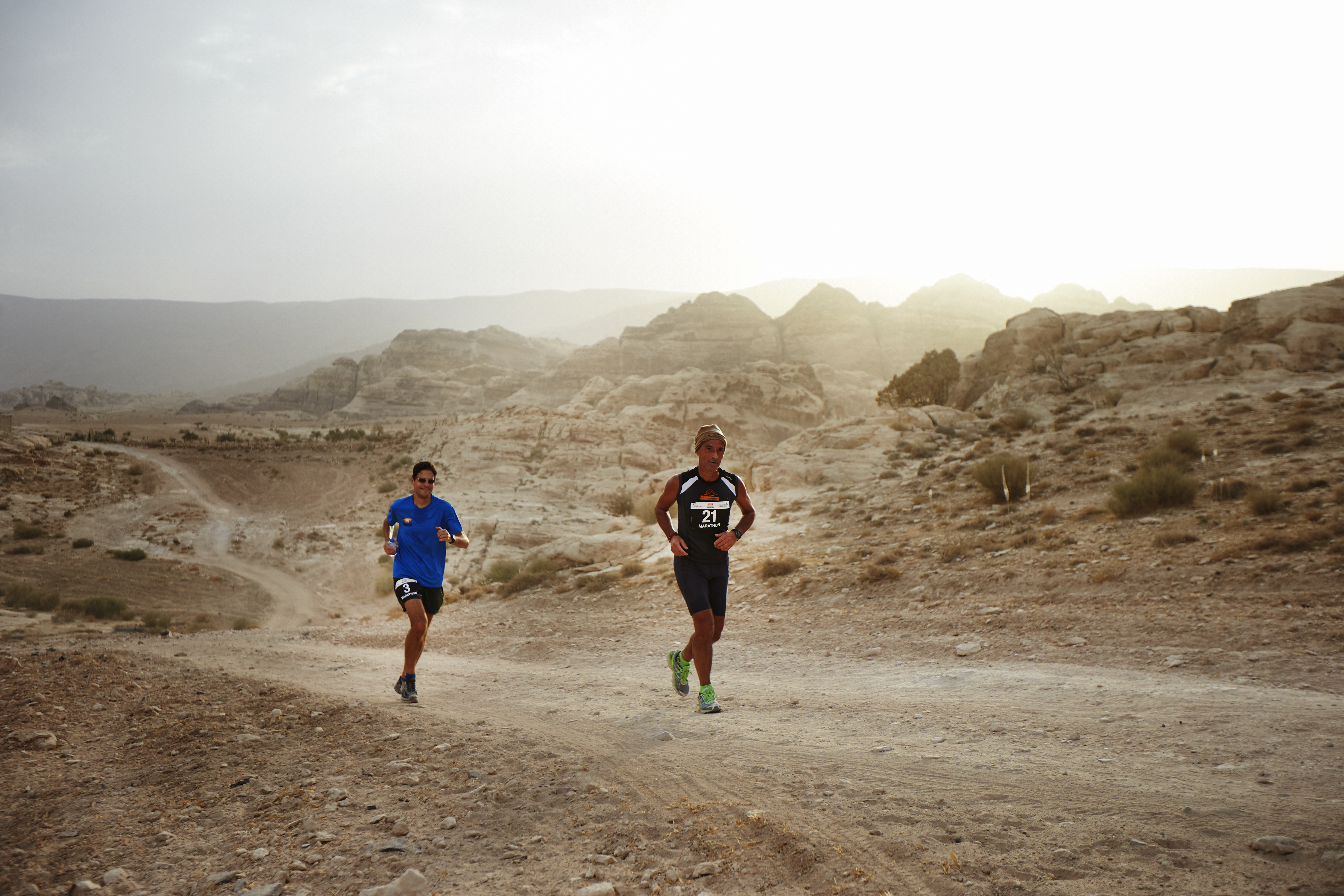 Petra Desert Marathon   Albatros Travel