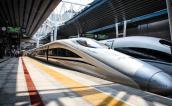 High-speed train, Beijing, China