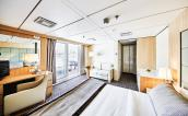 Balcony suite located on deck 7