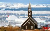 Zion Church in Ilulissat, Greenland