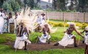 Sacola dancers in Rwanda
