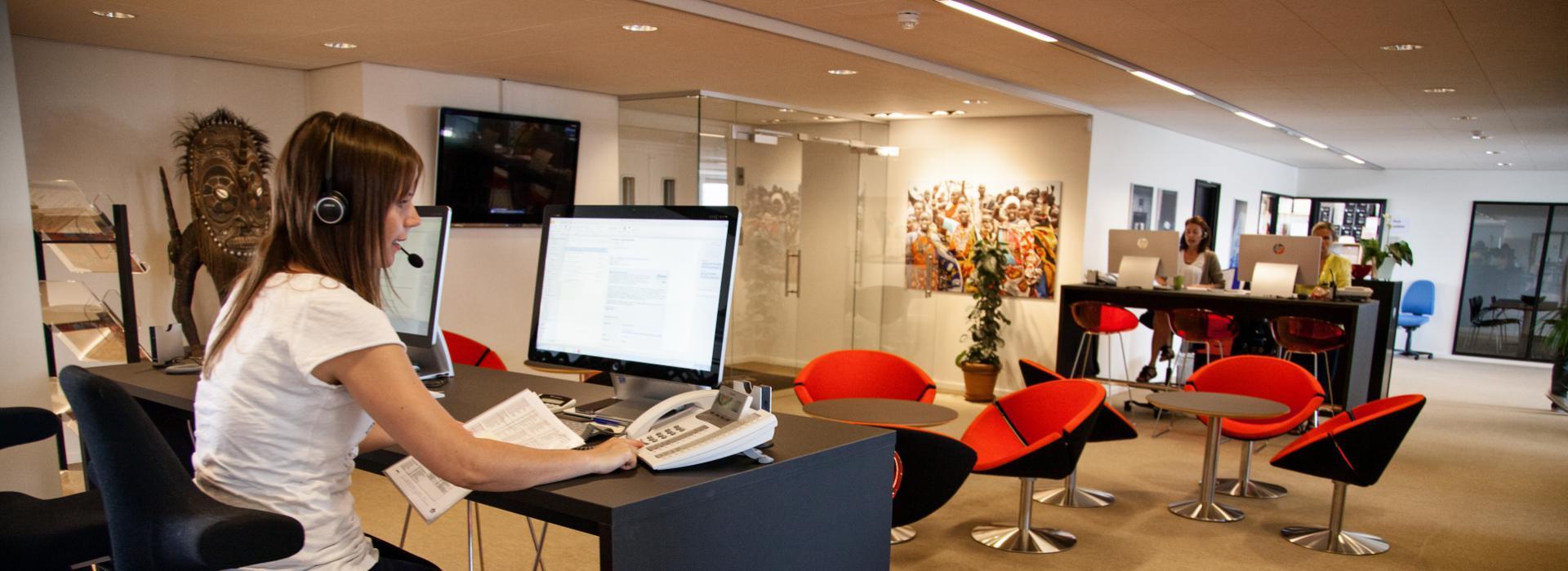 Head office in Copenhagen, Denmark