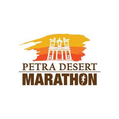 The Petra Desert Marathon Logo